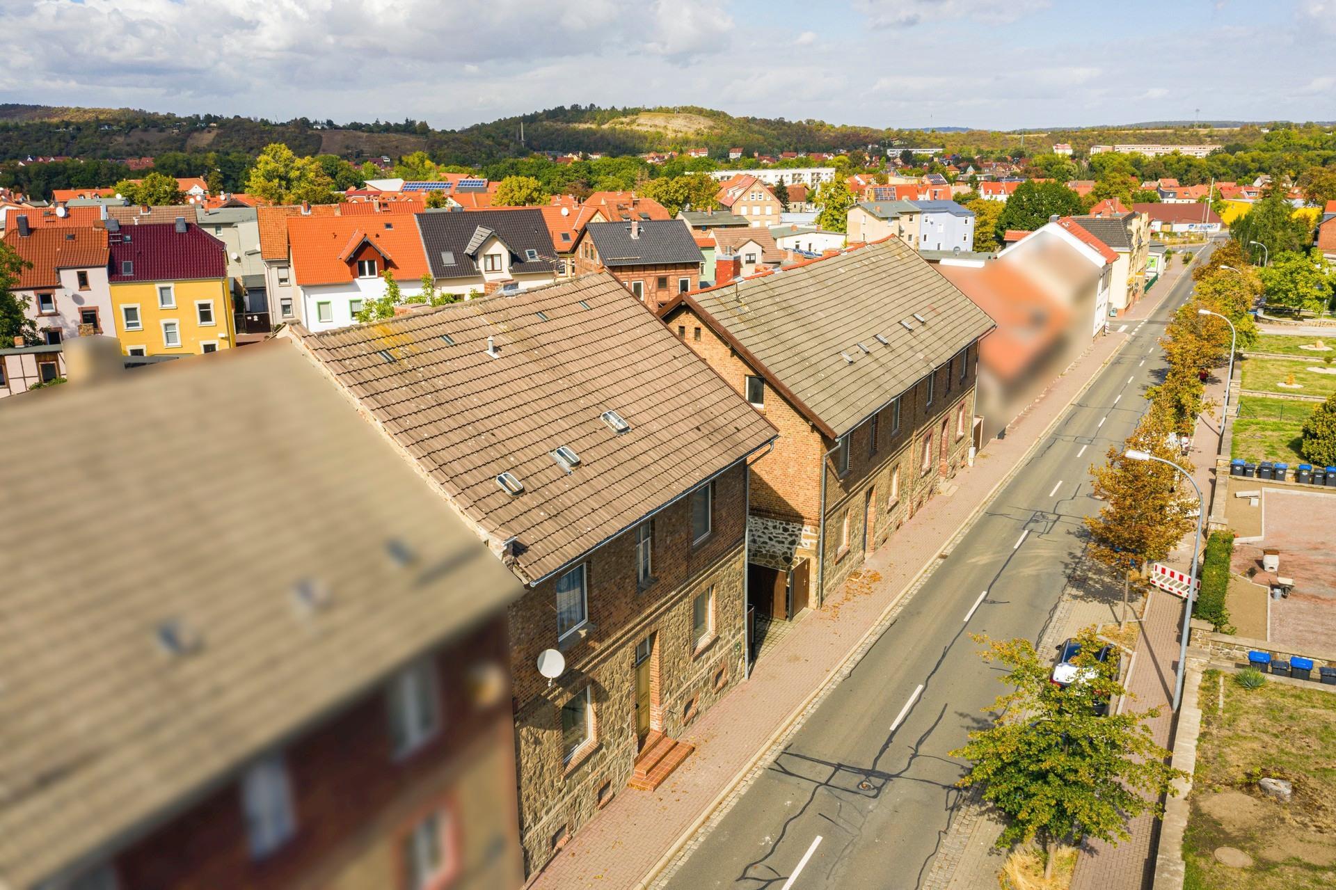 Luftbild Immobilie Drohne